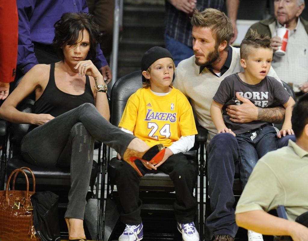 David Beckham Wife Victoria Beckham 2013 4