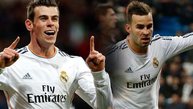 Gareth Bale Jese Real Madrid MDSVID20140130 0129 17