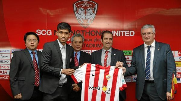 El Almería ficha un futbolista para acceder al mercado asiático