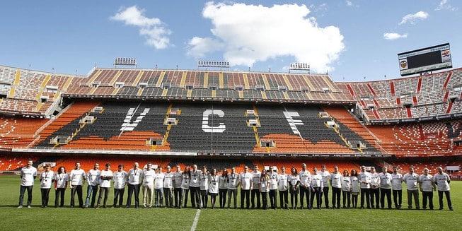La pionera estrategia del Valencia CF con sus patrocinadores