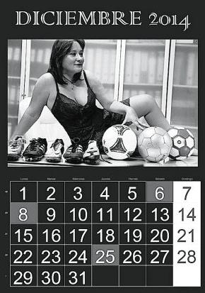 Gema Estrela, presidenta del equipo de fútbol de Denia. Agencias