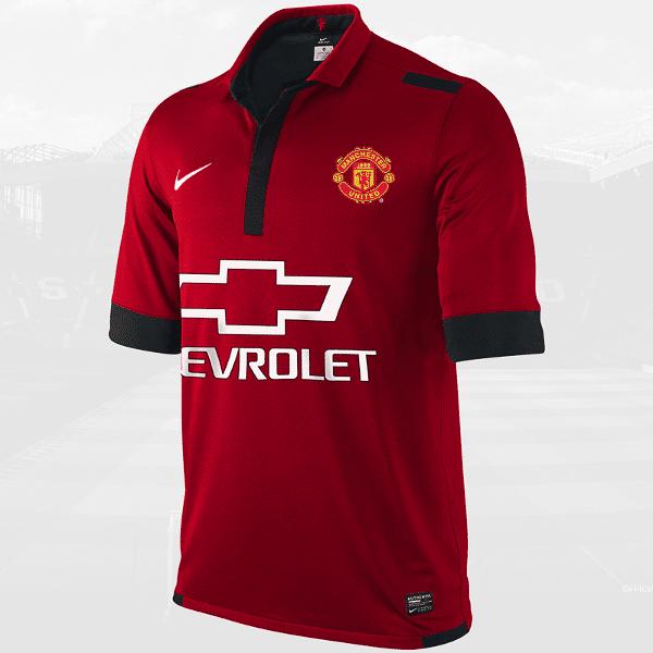 Filtrada la nueva camiseta del Manchester United, la más 'cara' de la historia del fútbol