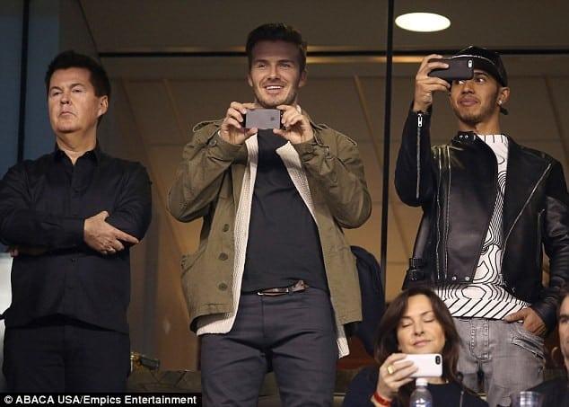 Beckham deja en evidencia a uno de sus patrocinadores más poderosos