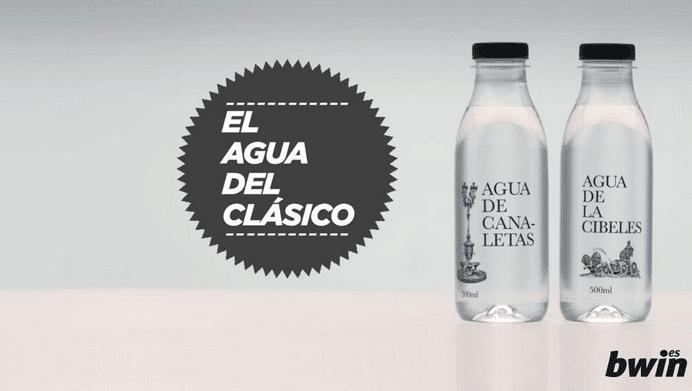'El agua del Clásico', la campaña de marketing más original del Real Madrid- Barcelona