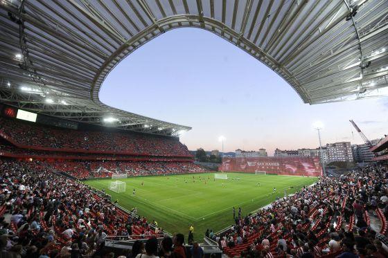 La asistencia a los estadios de los cuatro primeros equipos de la Liga