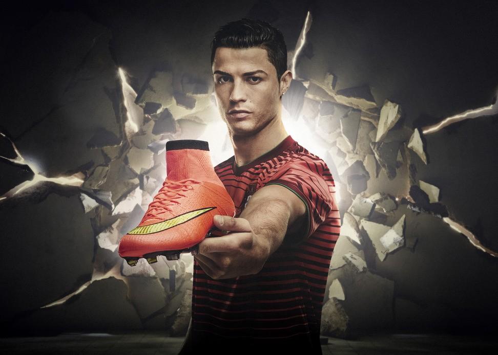 Las nuevas botas que Cristiano Ronaldo usará en el Mundial