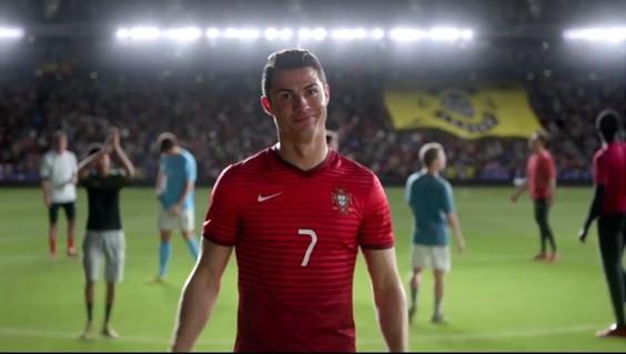 Ronaldo anuncio