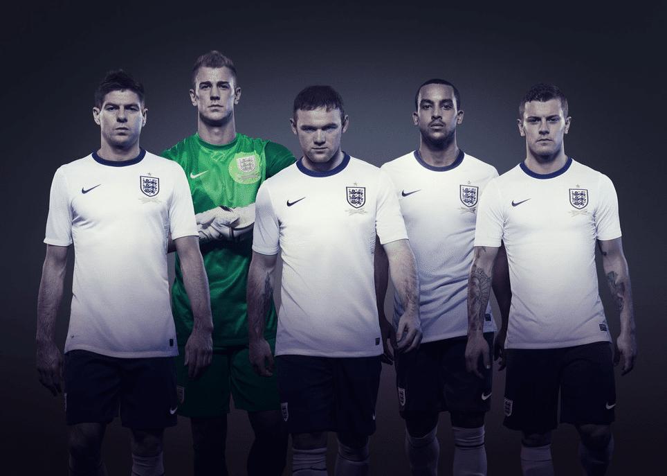 Nike enfada a los aficionados de la Selección de Inglaterra
