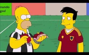 España según los Simpson