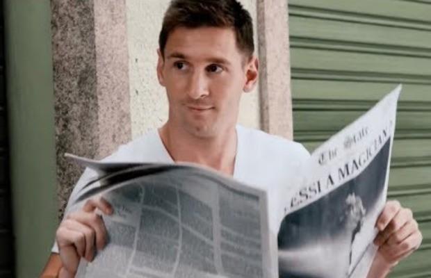 Messi participa en nuevo comercial interactivo de Pepsi