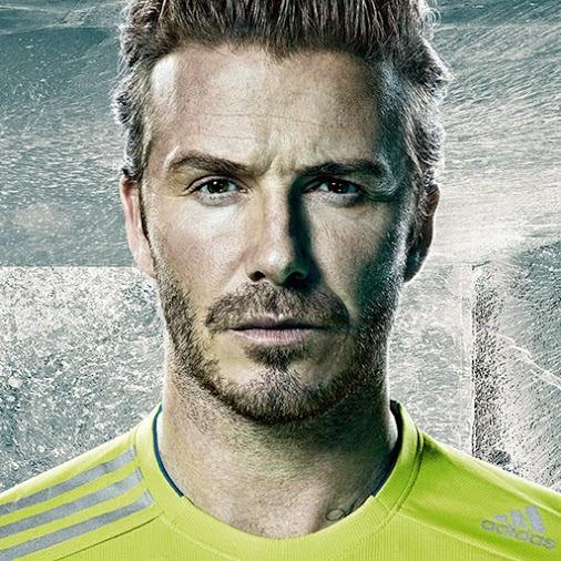 Adidas le paga más a Beckham que a Messi