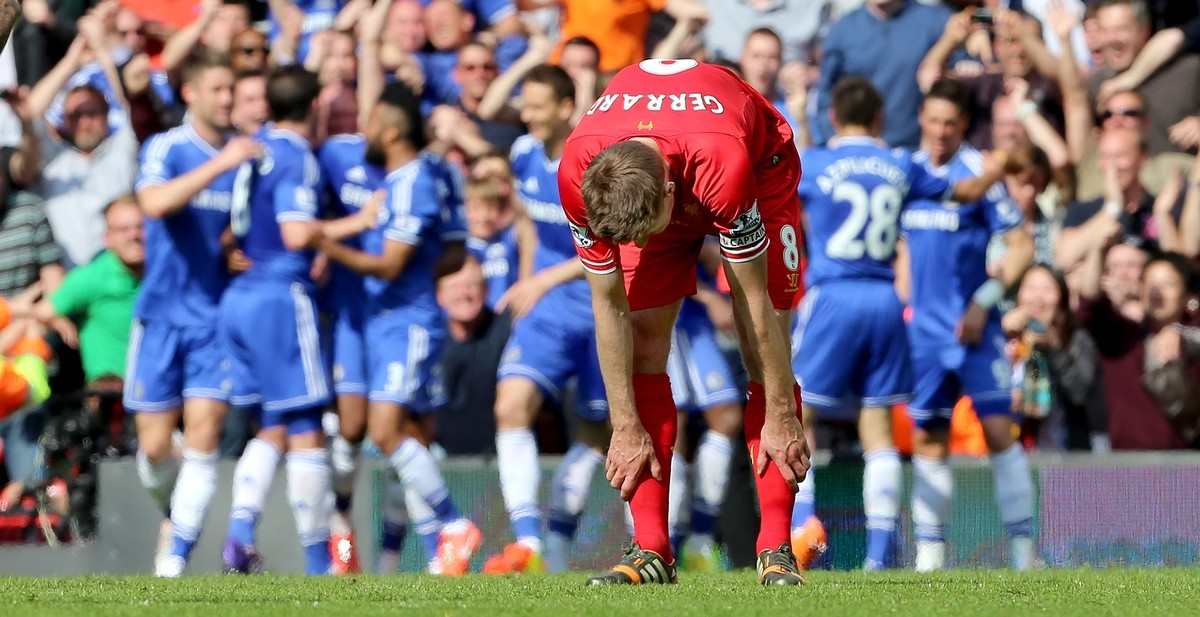 El fatídico resbalón de Gerrard pasa factura a Adidas