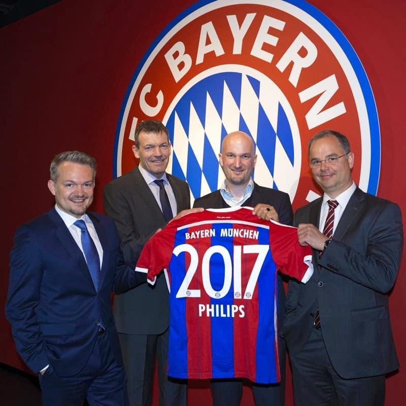 Philips se convierte en patrocinador del Bayern Munich