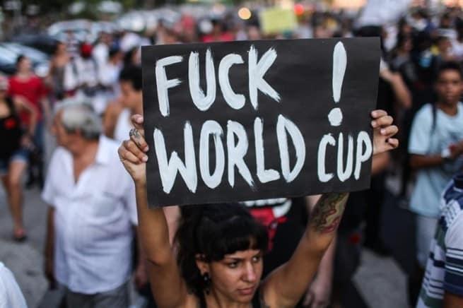 Brasil protestas mundial