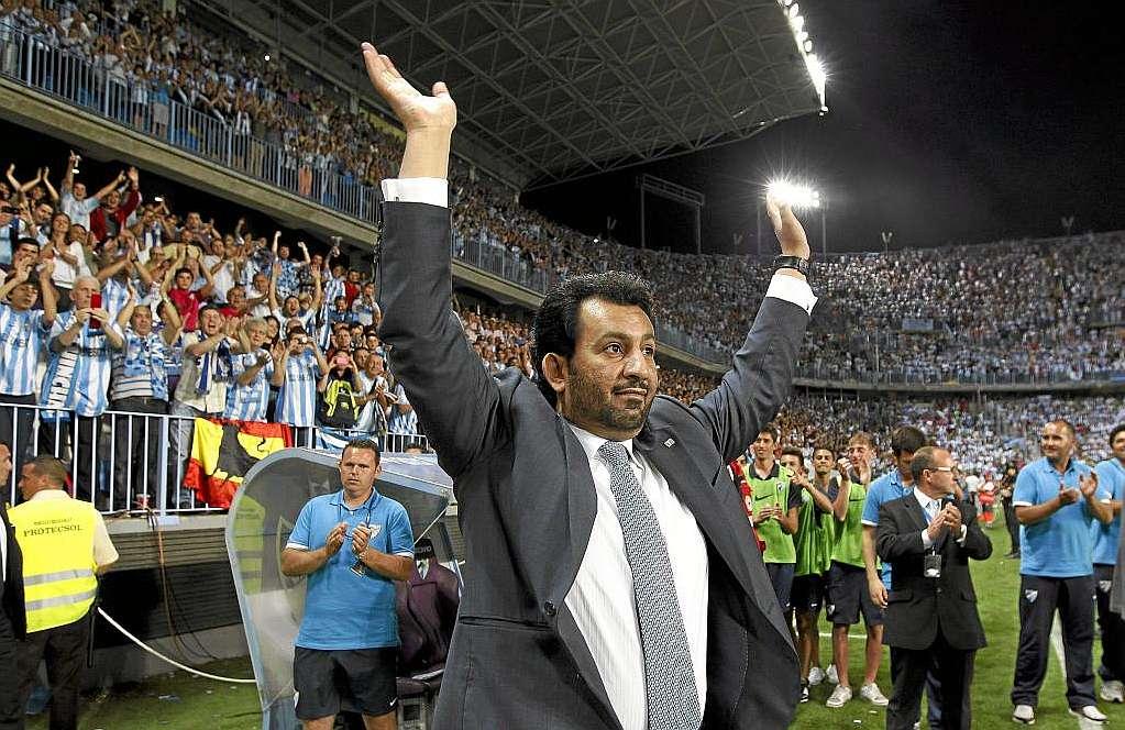 El Jeque Al Thani abandona el Málaga CF