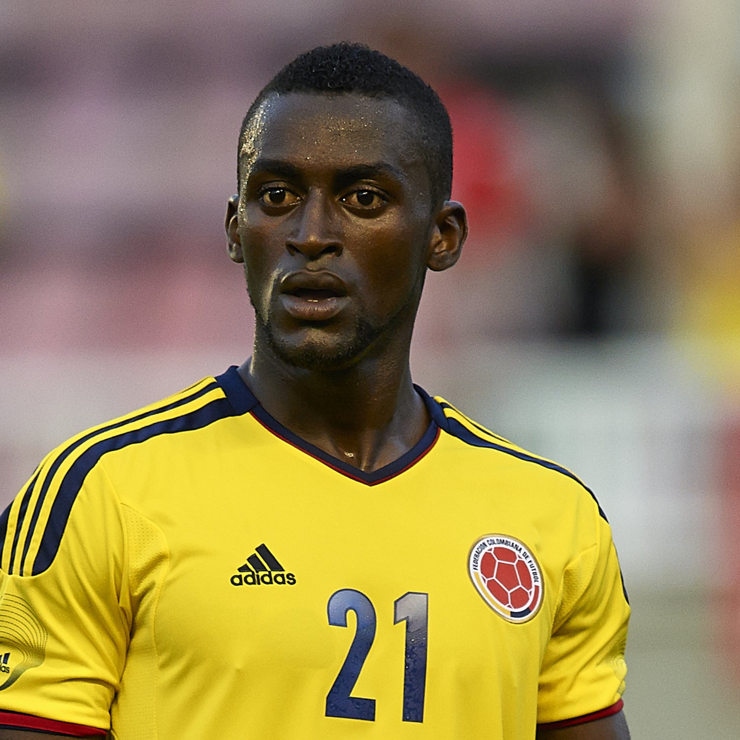 hi res 176514795 jackson martinez of colombia looks on during