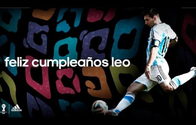 Las horribles botas que Adidas le regaló a Messi para su cumpleaños