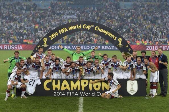 ¿Por qué Alemania estaba destinado a ganar en Brasil 2014?