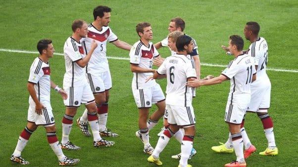alemania le gano francia y llego semifinales cuarto mundial consecutivo