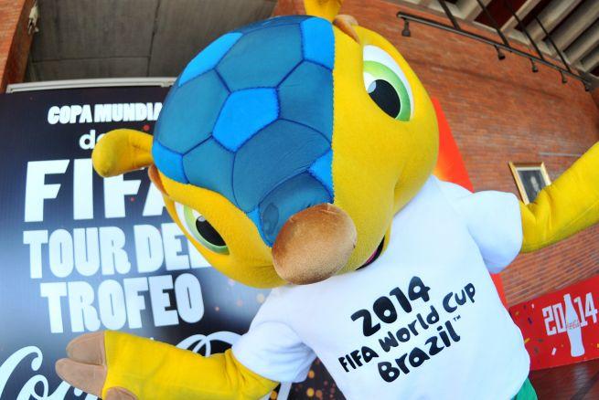 El problema de Brasil por su mascota Fuleco