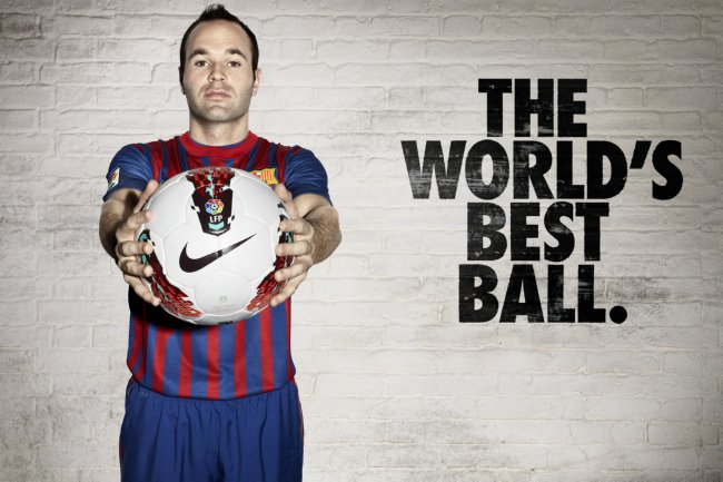 Las nuevas y soprendentes Nike piel Kangalite de Andres Iniesta
