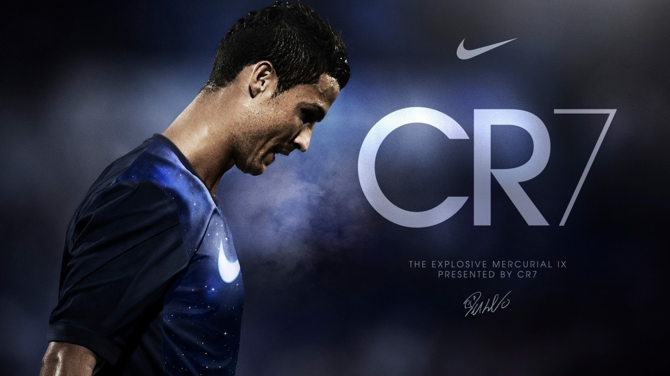 Nike diseña unas botas de diamantes para Cristiano Ronaldo