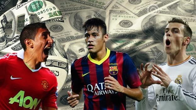 Los 5 clubes que más gastaron en el mercado de fichajes