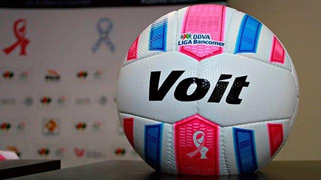 La liga mexicana se viste de rosa en apoyo al cáncer de mama