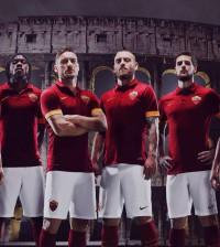 Camiseta Titular AS Roma 2014-15