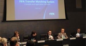 Presentación del FIFA TMS en América / Agencias