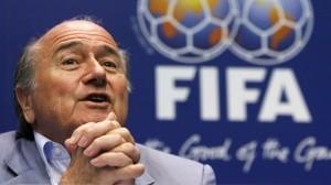 Blatter en una rueda de prensa de la FIFA / Agencias