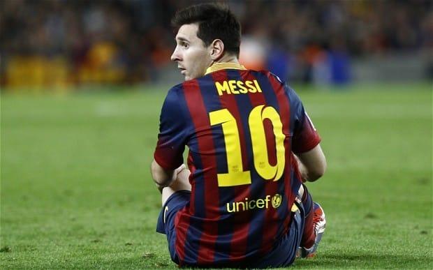 Leo Messi en un partido con el Barça / Agencias