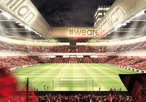 Nuevo estadio del Milan / Agencias