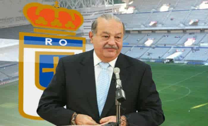 Carlos Slim socio Real Oviedo