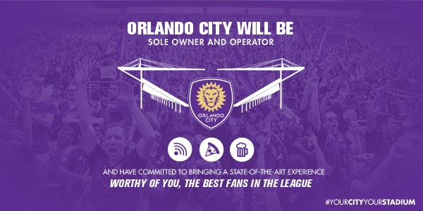 El éxito de la MLS permite a Orlando City financiar de forma privada su nuevo estadio