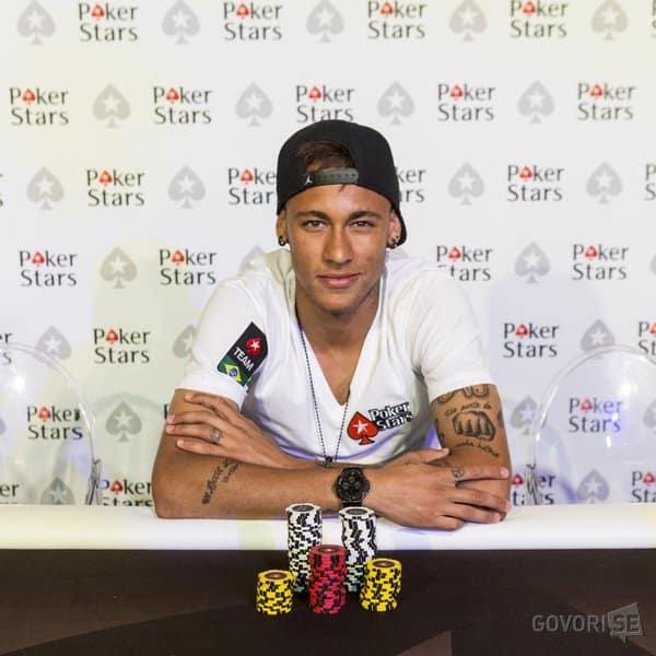 Neymar será la nueva imagen de 'PokerStars'