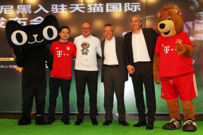 Alibabá Le Abre Las Puertas del Mercado Chino Al Bayern de Múnich