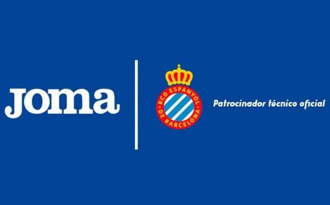 Joma vestirá al Espanyol las próximas tres temporadas