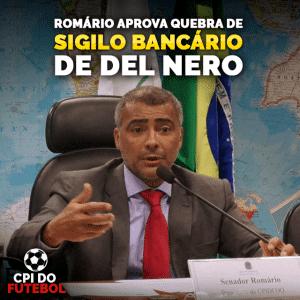 Foto: Facebook oficial de Romário Faria