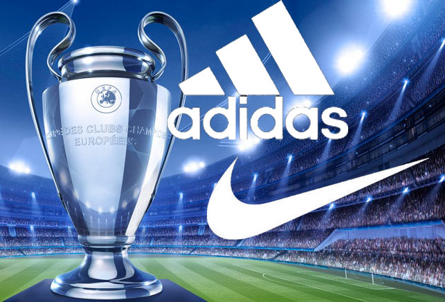 Champions-League adidas nike