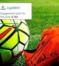 Blinkfire Analytics detectará la presencia de marcas en los contenidos para evaluar su impacto económico. Fuente: LaLiga.es