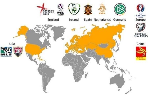 Continental ha ido ampliando su compromiso con el fútbol internacional desde su primera participación en 1995 como patrocinador oficial de la UEFA Champions League. Fuente: continental-tires