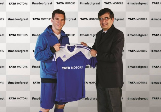 Messi y Tata Motors