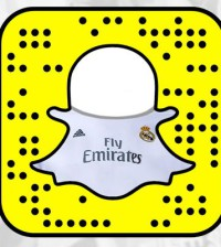 Real Madrid Snapchat