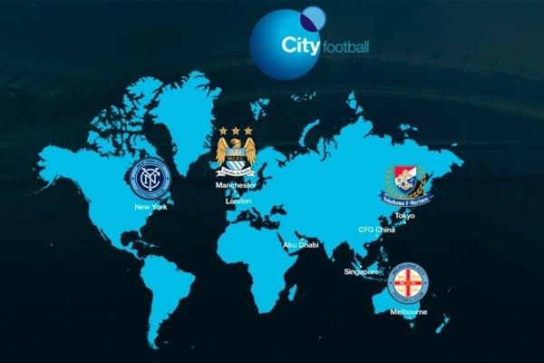 Un grupo chino adquiere el 13% del City Football Group