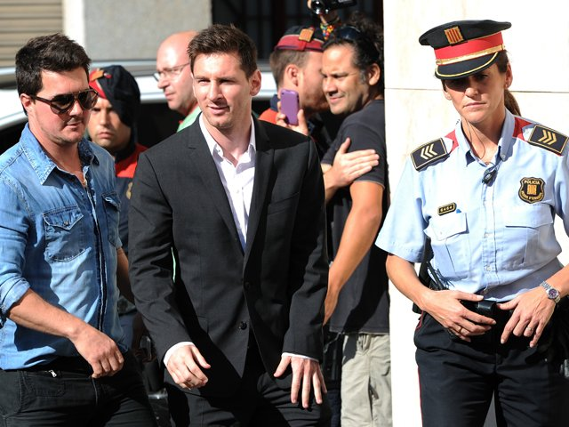 Leo Messi gana su primera batalla contra la justicia
