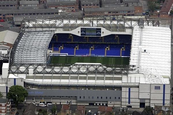 El nuevo recinto jubilará al White Hart Line, campo del Tottenham desde 1899. Fuente: The Guardian