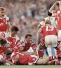 La selección danesa ganadora de la Eurocopa de 1992 ya vestía con la marca Hummel. Fuente: http://talksport.com/