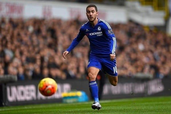El podio lo completa el belga Eden Hazard, cuyo valor ha disminuido de 142 a 130 millones de euros. Fuente: standard.co.uk