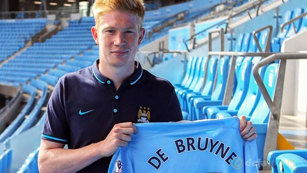 Kevin De Bruyne Man City